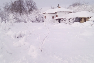 The Cottage, The cottage in winter